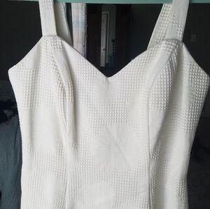 ♡Vintage♡ monochromatic daisy print dress